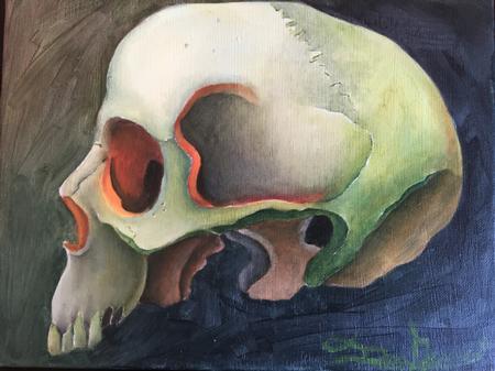 Art Galleries - Skull - 111902