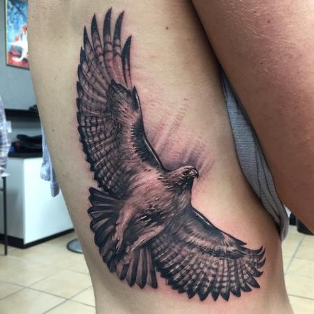 tattoos/ - Red-winged Hawk - 111701