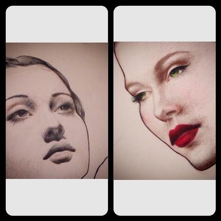 Art Galleries - Retro Lady - Crop - 101582