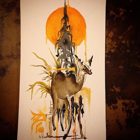 Art Galleries - Deer - 104520