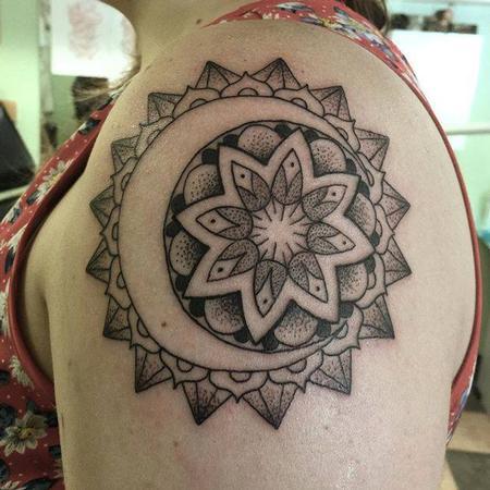 tattoos/ - Sun and Moon Mandala - 108366
