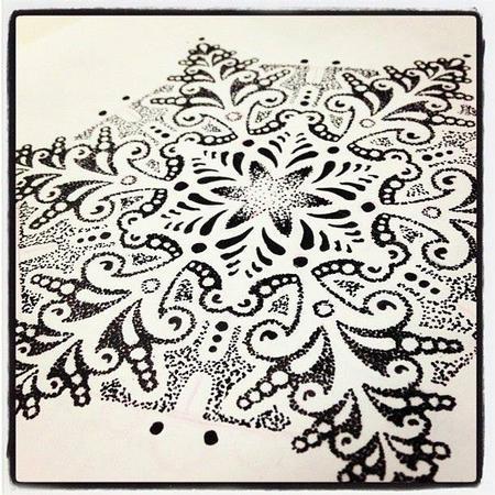 Art Galleries - Dotwork Mandalla - 103726