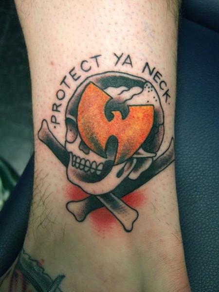tattoos/ - Traditional Skull Tattoo - 61624