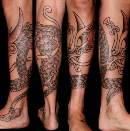 tattoos/ - Nordic Dragon - 112025