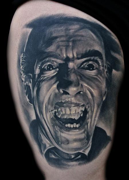 tattoos/ - Dracula Portrait Tattoo - 102211