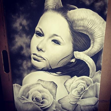 Art Galleries - Demon woman - 104366