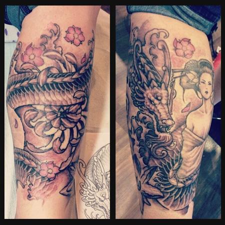 tattoos/ - Dragon - 104362