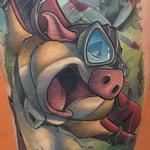Flying Pig Tattoo Tattoo Design Thumbnail