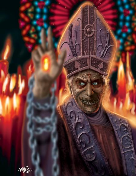 Art Galleries - Evil Pope - 111336
