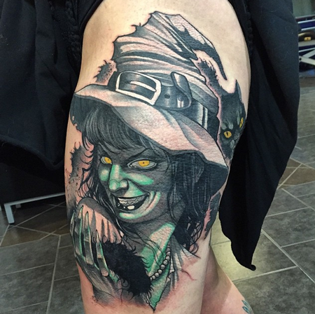 tattoos/ - Witchy Woman - 100293