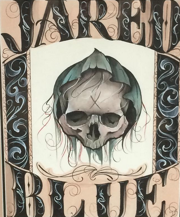 Art Galleries - Skull & Name - 108954