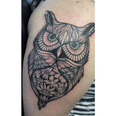 tattoos/ - Owl - 106652