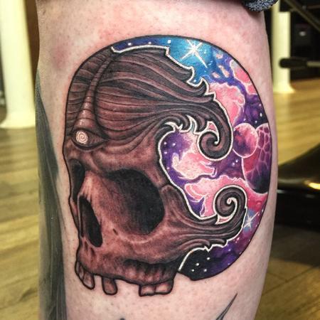 tattoos/ - Skull space banger - 115313