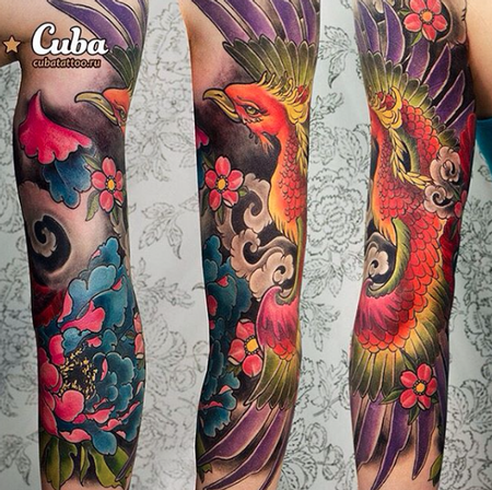 tattoos/ - Rainbow Phoenix - 111948