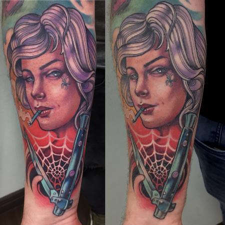 tattoos/ - switchblade girl - 141759
