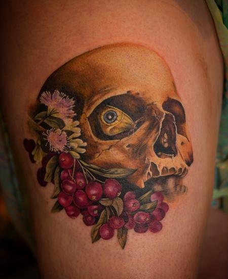 tattoos/ - Butterfly skull - 117601