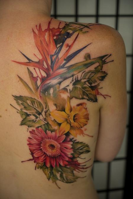 tattoos/ - Watercolor flowers - 117661