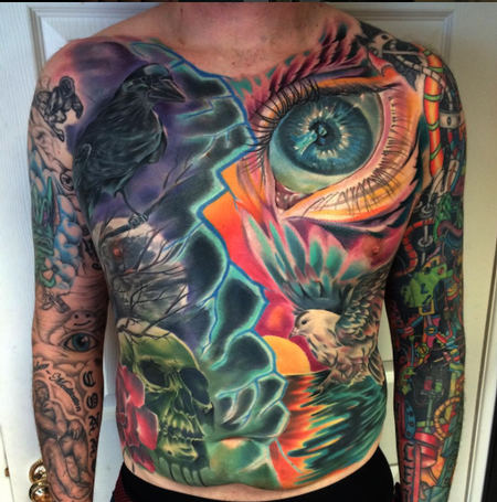 tattoos/ - Chest & Stomach Panel - 112021