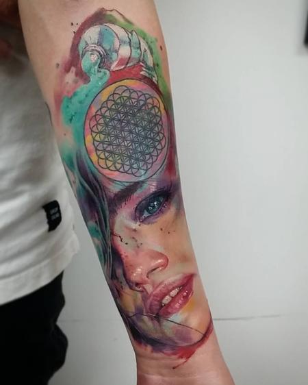 tattoos/ - Girl portrait - 121945