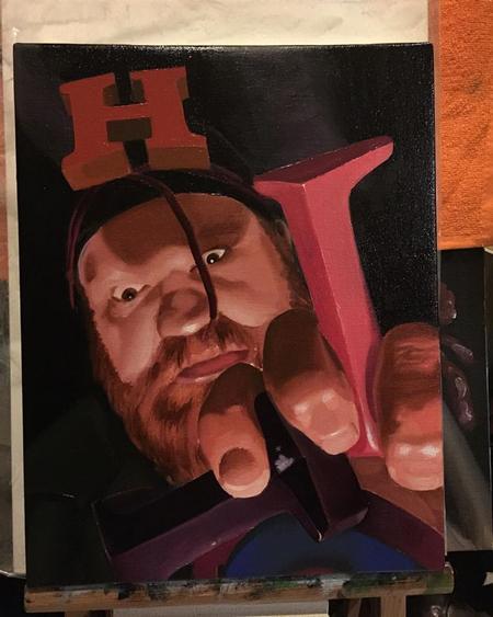 Art Galleries - Block head - 131195