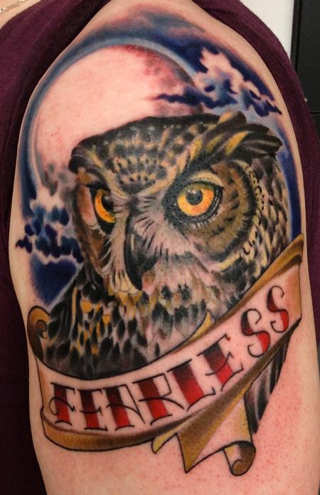 tattoos/ - Owl