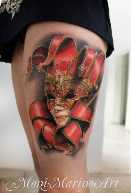 tattoos/ - Venetian Mask Tattoo - 113710