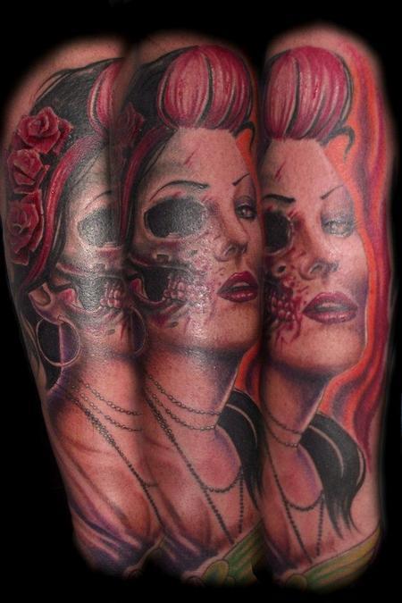 tattoos/ - Color Portrait Tattoo - 61754