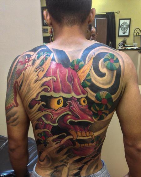 tattoos/ - Japanese Hanya Backpiece - 108612