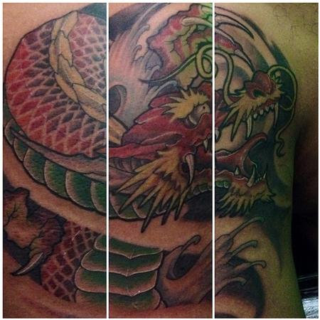 tattoos/ - Japanese Dragon - 108613