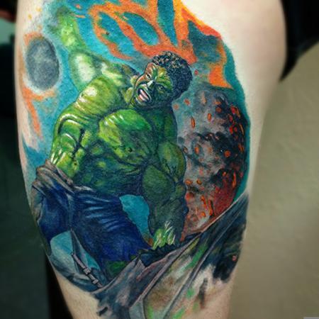 tattoos/ - Incredible Hulk  - 106672