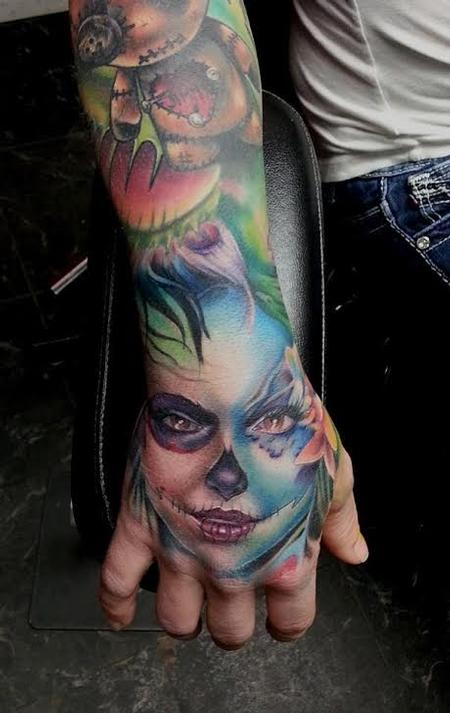tattoos/ - Clown Woman - 114600