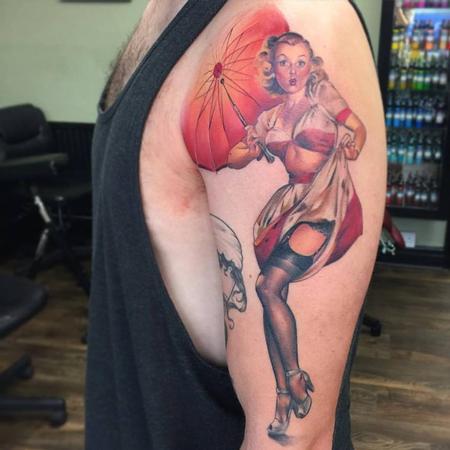 tattoos/ - Color Pinup Tattoo - 120117
