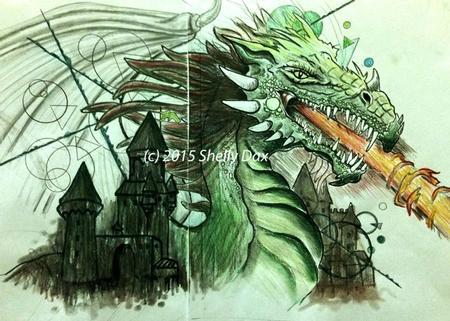 Art Galleries - Dragon - 101495