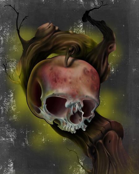 Art Galleries - Apple skull  - 117770
