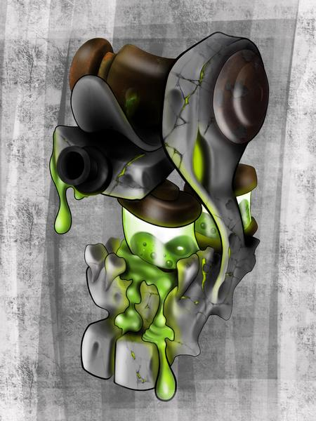 Art Galleries - Nuclear stone machine  - 119396