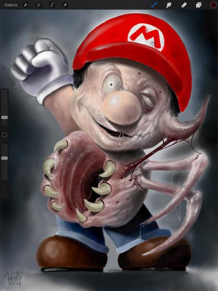 Art Galleries - Mario The Thing - 131266