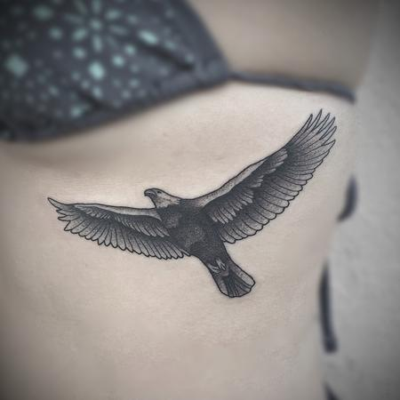 tattoos/ - stipple eagle  - 117897
