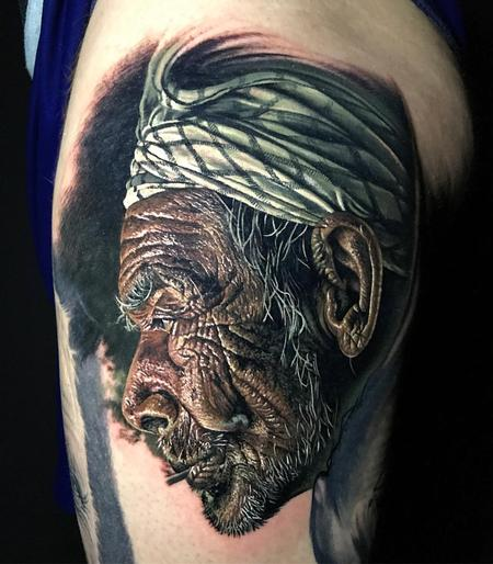 tattoos/ - Realistic Portrait - 128667
