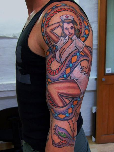 tattoos/ - Pinup Tattoo - 60556