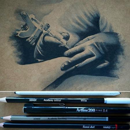 Art Galleries - Tattooing Hands - 116394