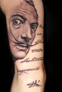 tattoos/ - Salvador Dali - 98951