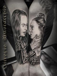 tattoos/ - Romantic Couple - 98953