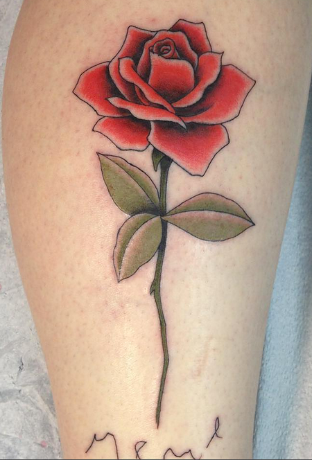 tattoos/ - Rose - 124849