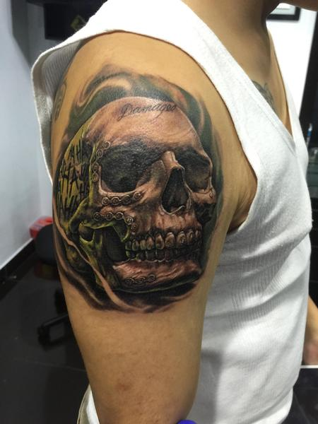 tattoos/ - Joker skull - 122168