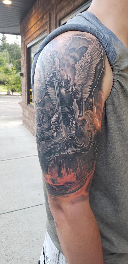 tattoos/ - Saint Michael Tattoo  - 134857