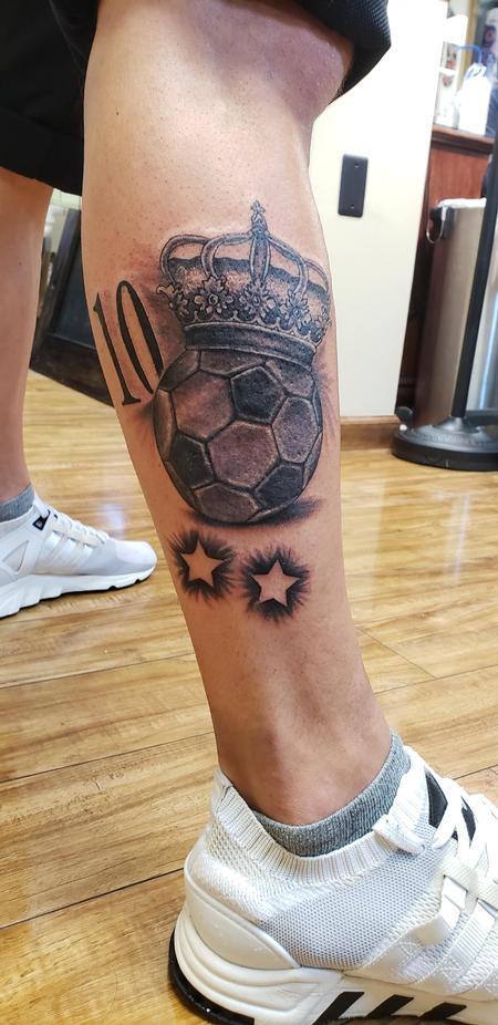 tattoos/ - Soccer number 10  - 134858