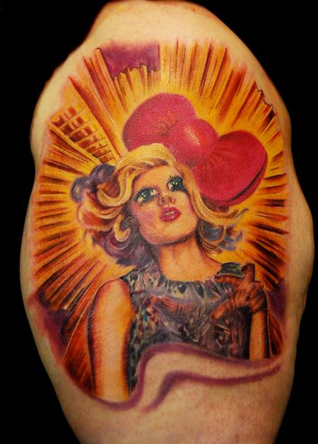 tattoos/ - Lady Gaga / Hello Kitty - 59693