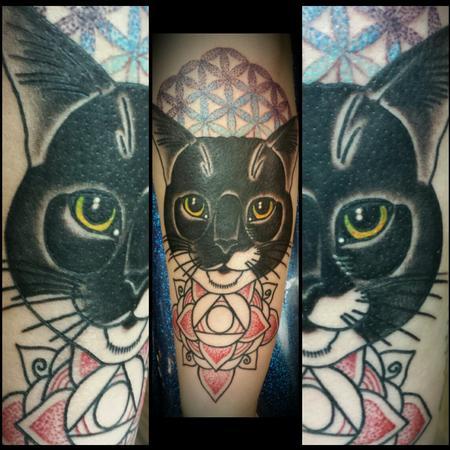 tattoos/ - Sacred Geometry Cat - 114812
