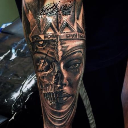 tattoos/ - Skull morph - 123215