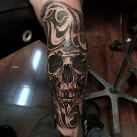 tattoos/ - Human skull  - 123493